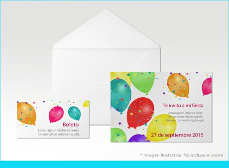 Invitaciones Invitación Simple 14 De Carta 1075 X 14 Cm